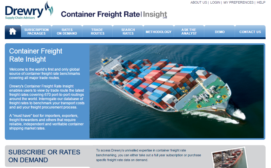 Container Freight Rate Insight