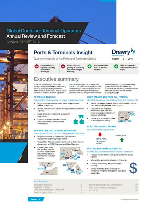 Ports and Terminals Advanced Subscription