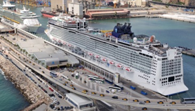 Buy side due diligence for a global cruise terminal operator