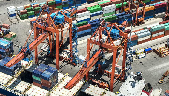 Assessment of forecast volumes for a portfolio of container terminal operations