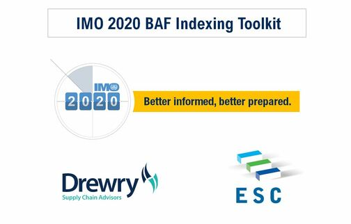 ESC, Drewry announce an IMO 2020 BAF transparent indexing mechanism