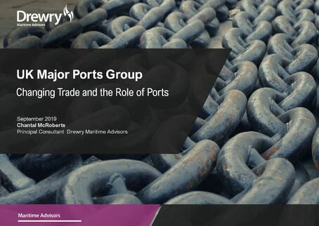Drewry presentation to UK Major Ports Group on changing global trade and the role of ports