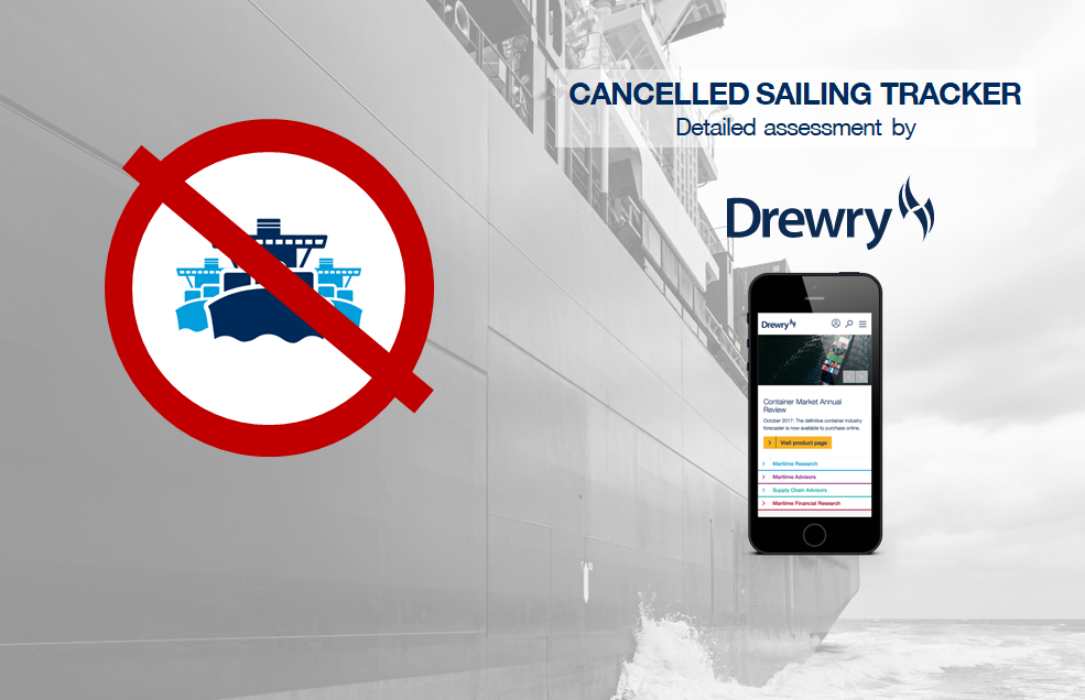Cancelled Sailings Tracker - 03 Apr